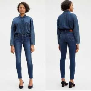 Levi's Demi Curve Skinny Jeans 28 x 32